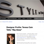Style In Form Blog - Designer Profile - March 2015