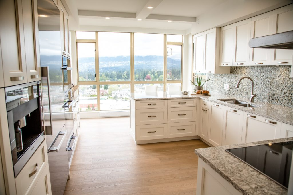 north vancouver view condo luxury renovation transitional style