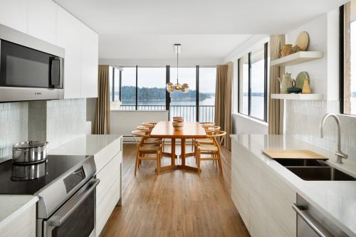 West Vancouver Condo Reno With A Mid-Century Modern Influence